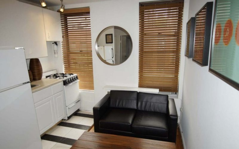 Furnished 1-Bedroom Apartment at 8th Ave & W 52nd St New York - Image 1 - New York City - rentals