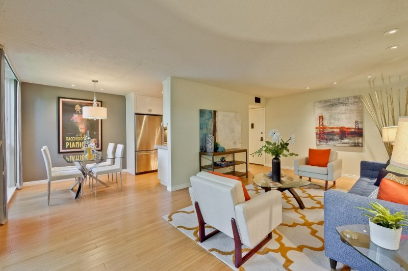 Furnished 1-Bedroom Condo at California St & Del Medio Ave Mountain View - Image 1 - Mountain View - rentals