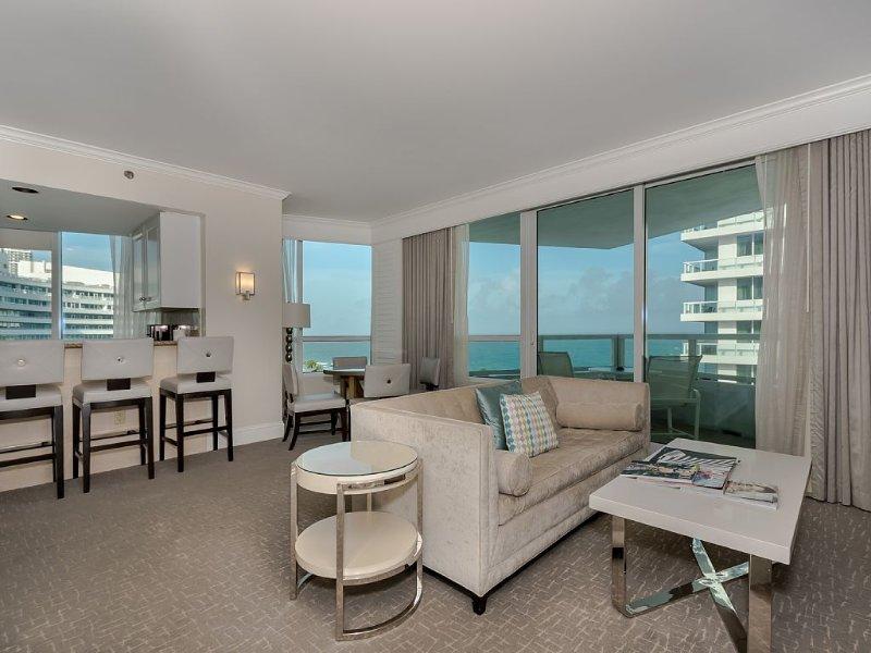 Fontainebleau Gorgeous 1 Bdrm Oceanview + Parking - Image 1 - Miami Beach - rentals