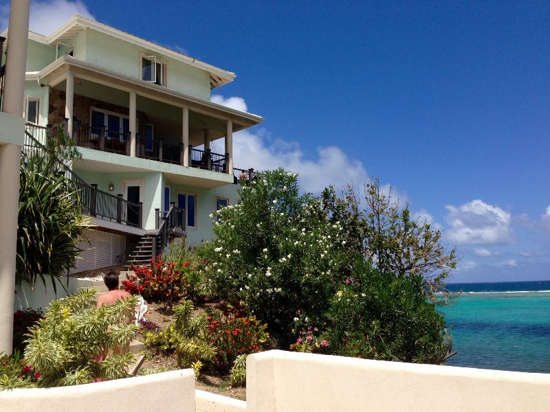 The Main House - Anam Cara Villa - Secluded Luxury Beachfront Home - South Sound - rentals