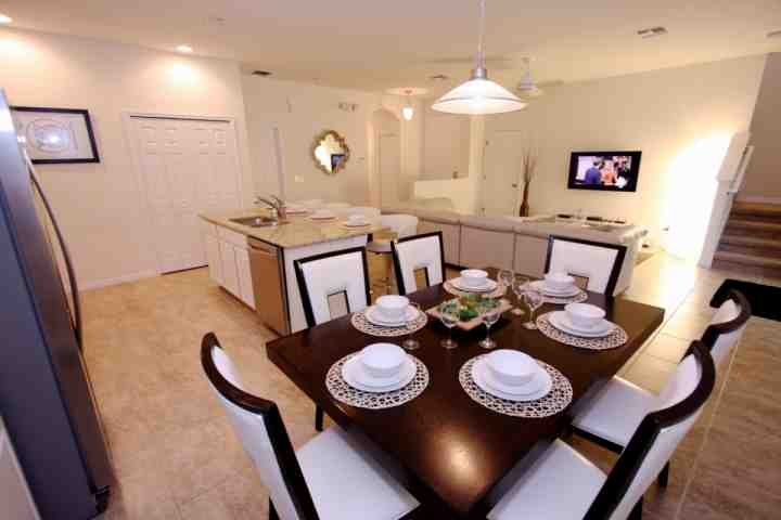 Dining Area for Six (6) - 800 Bella Vida - Kissimmee - rentals