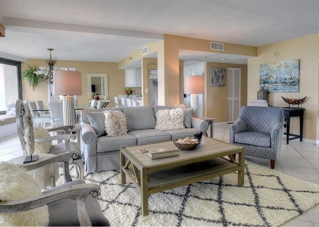 """HEAVEN IS HERE"" At This Gulf Front Condo. Free Shuttle Included! - Image 1 - Sandestin - rentals"