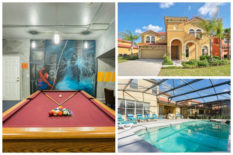 Watersong Disney Villa Huge 4200 sqf in gated area - Image 1 - Davenport - rentals
