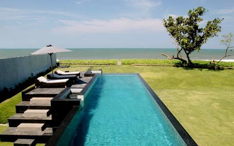 "Aman 4 Bedroom Villa at Berawa Beach ""Special Offer"" - Image 1 - Canggu - rentals"