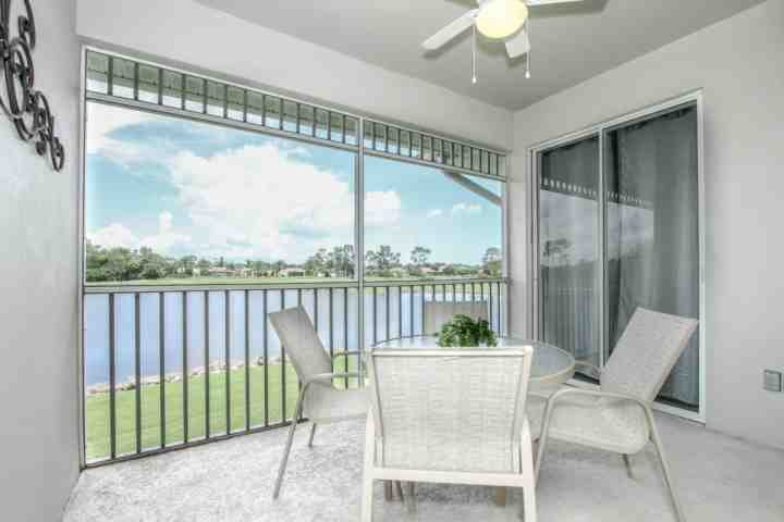 Spacious screened lanai w/direct access from living room and master suite. - Renovated GreenLinks/Lely Condo w/Incredible Lake and Golf Course Views - Naples - rentals