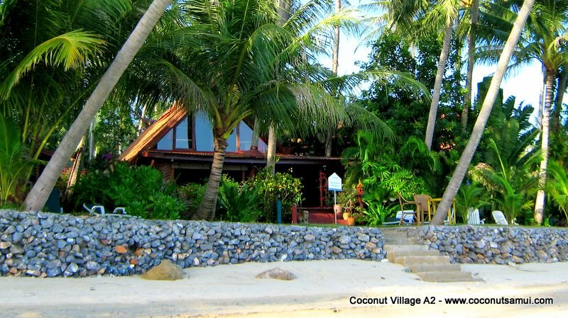 Beachfront Holiday Villa for Rent: Coconut Village A2 - Image 1 - Chaweng - rentals
