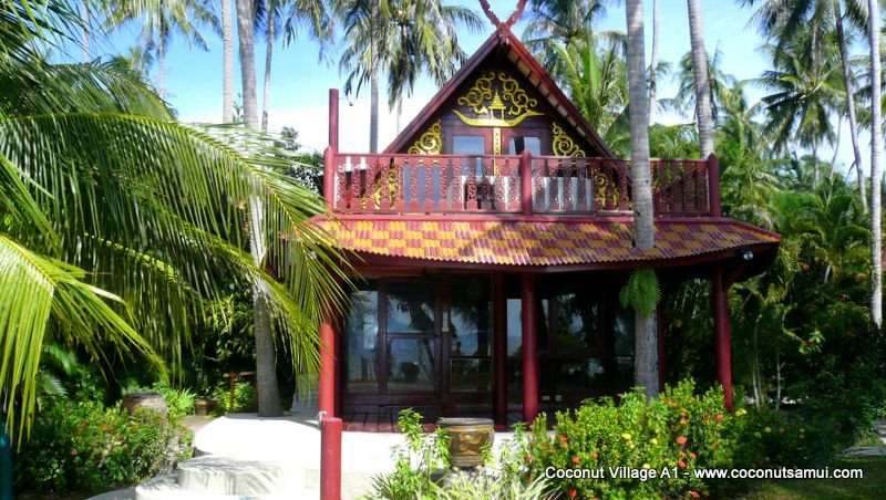 Beachfront Holiday Villa for Rent: Coconut Village A1 - Image 1 - Chaweng - rentals