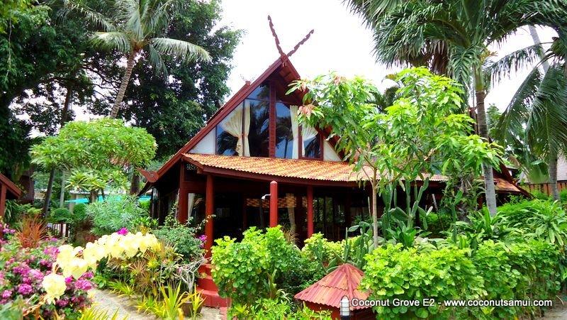 Beachside Holiday Villa for Rent: Coconut Grove E2 - Image 1 - Koh Samui - rentals