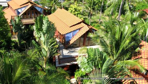 Holiday Villa for Rent: Coconut Paradise P4 Spacious Beachside Rental - Image 1 - Koh Samui - rentals