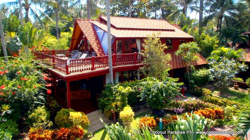 Beachside Holiday Villa Coconut Paradise P5, Large Mansion on Koh Samui - Image 1 - Koh Samui - rentals
