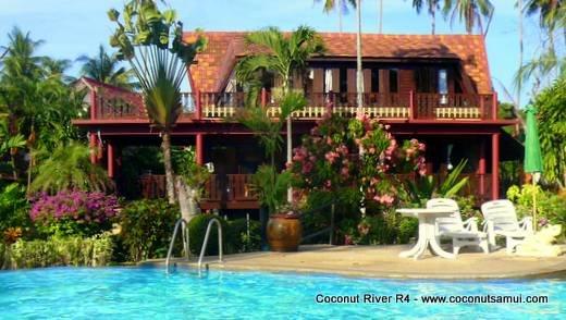 Holiday Villa for Rent: Coconut River R4 Beachside Rental - Image 1 - Koh Samui - rentals