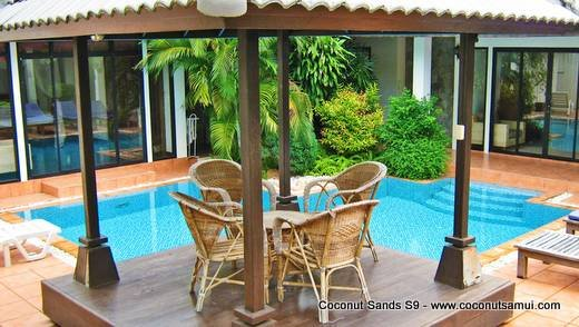 Private Pool Villa for Rent: Coconut Sands S9 Beachside Location - Image 1 - Koh Samui - rentals