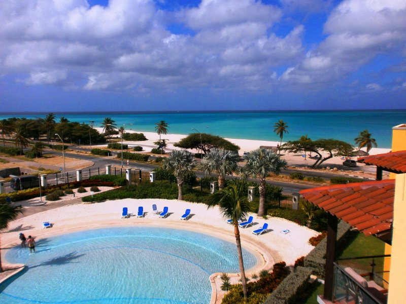 Your amazing Ocean View! - Sapphire Two-bedroom condo - Eagle Beach - rentals