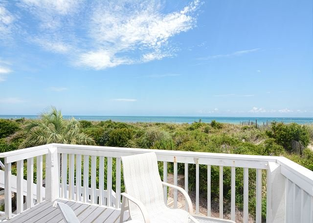 Station One Townhome 16 - Ocean Views - Station One-TH16 Boucher-Oceanfront townhouse; community pool, tennis, beach - Wrightsville Beach - rentals