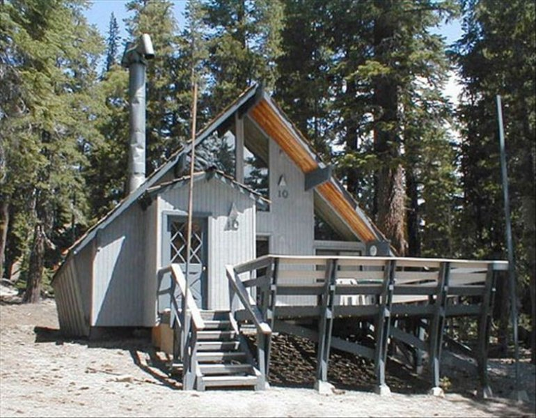 Chalet 10 in the summer - Ski in/Ski out Slope side cabin - Chalet #10 - Mammoth Lakes - rentals