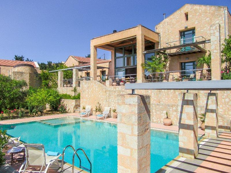 Alkyoni - Apokoron Luxury Villas - Sleeps 10 - Image 1 - Vamos - rentals