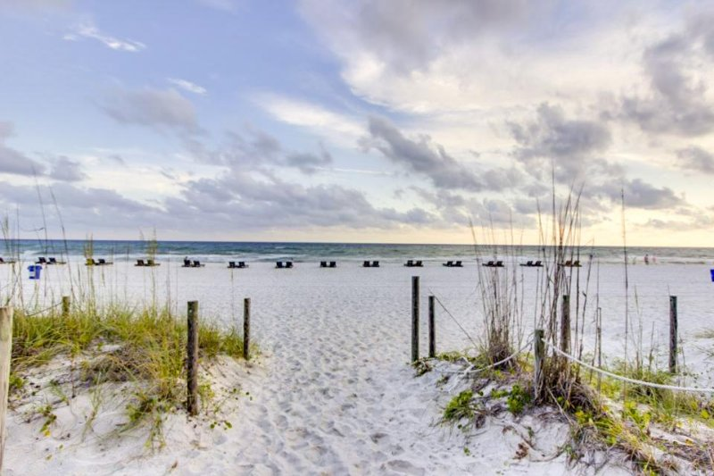 Waterfront home w/ amazing Gulf views, private balcony, and pool access! - Image 1 - Panama City Beach - rentals
