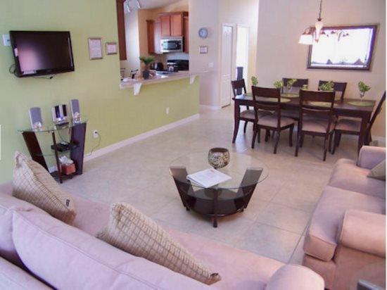 Spacious 5 Bedroom 3 Bath Pool Home near the Parks. 876SJW - Image 1 - Loughman - rentals