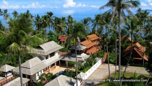 Private Pool Villa for Rent: Coconut Paradise P9 Beachside Holiday Rental - Image 1 - Koh Samui - rentals