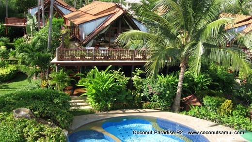 Holiday Villa for Rent: Coconut Paradise P2 Spacious Beachside Rental - Image 1 - Koh Samui - rentals