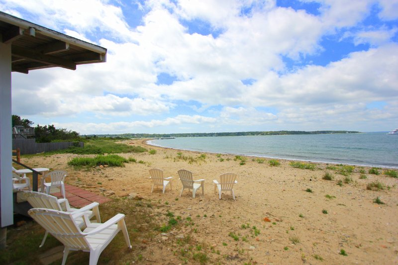 GOLLB - Waterfront, Private Beach, Gorgeous Water Views, Room AC, Wifi - Image 1 - Oak Bluffs - rentals