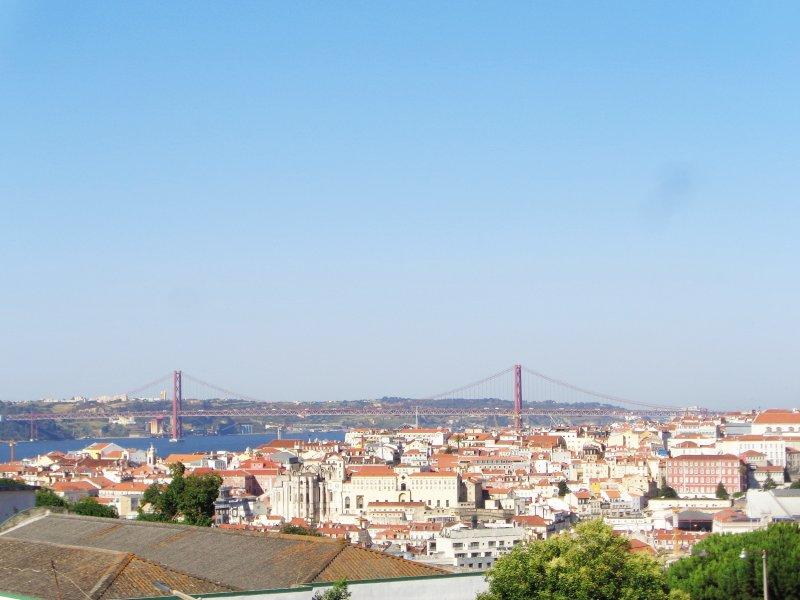 View from kitchen and bedroom. - Graça's Nest - Lisbon - rentals