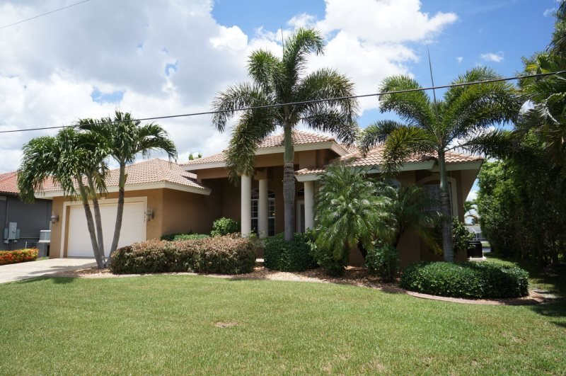 Alicia 1014 - SE Cape Coral Luxury Electric Heated Pool/Spa Home, walking distance to Cape Coral Beach, Marina and Entertainment, Modern Contemporary Furnished, Foosball Table and much more...... - Image 1 - Cape Coral - rentals