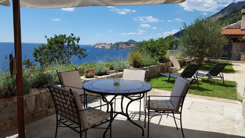 TERRACE WITH GARDEN - Blue Infinity - Dubrovnik - rentals