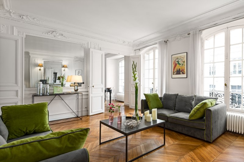 Living room view six - Concorde Chic Three Bedroom - Paris - rentals