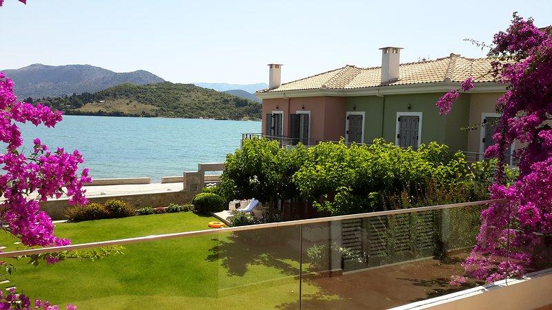 Seafront ThalassaMare  villa - Image 1 - Lefkada Town - rentals