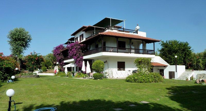 Villa Oasis 2016  - Villa Oasis apartment with balcony and sea view - Nea Potidea - rentals