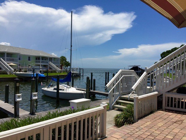 View from unit - Waterfront condo in gated community on Tampa Bay - Saint Petersburg - rentals