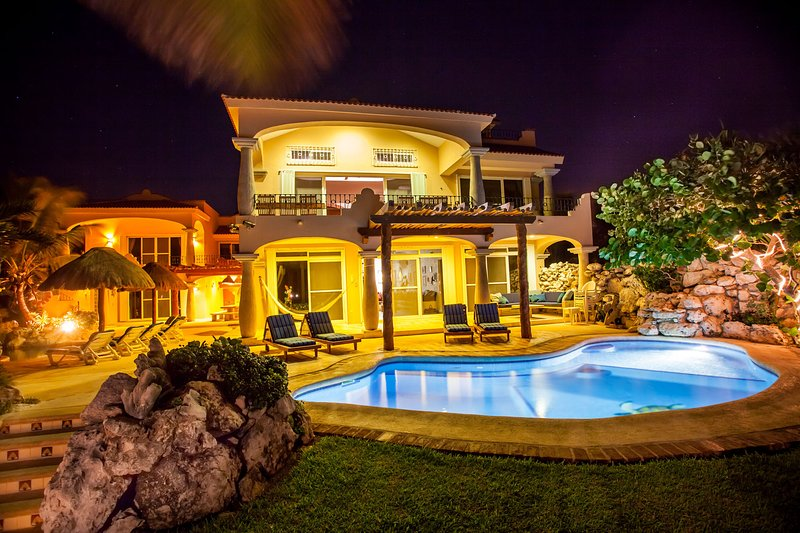 villa Brisa Caribe with 2 private oceanfront pools - Much more than just a Vacation Villa - Puerto Aventuras - rentals