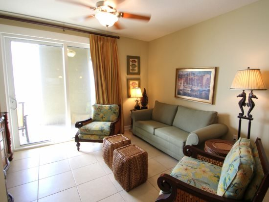 Make this your home away from home, right on the beach in this lower level 2 Bedroom at Grand Panama - Image 1 - Panama City Beach - rentals