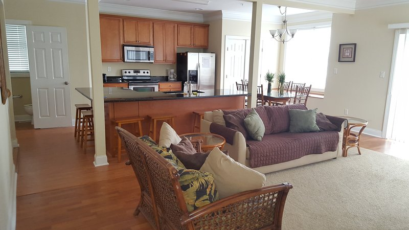 Kitchen/3rd Floor Unit 3 South - Large Ocean Block Townhomes 4 bedroom, 3.5 bath - Ocean City - rentals