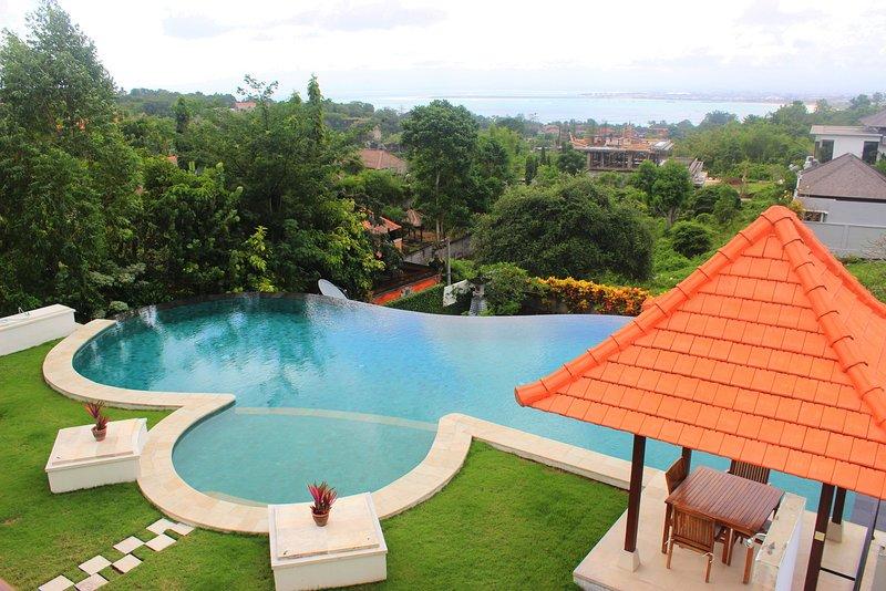 Narooma Luxury 4BR Ocean View Villa,  Jimbaran+Gym - Image 1 - Jimbaran - rentals