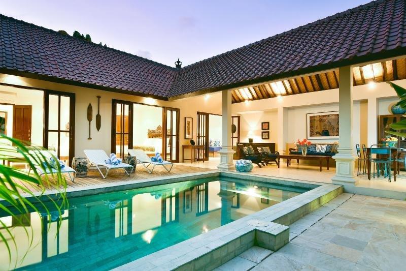 3 Bedroom Villa Steps to Beach, Seminyak - Image 1 - Seminyak - rentals