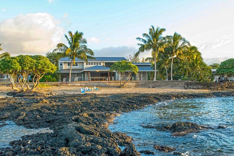 Hale Ama From The Tidepool - Oceanfront Villa  With Guest House 4 Bedrooms - Puako - rentals