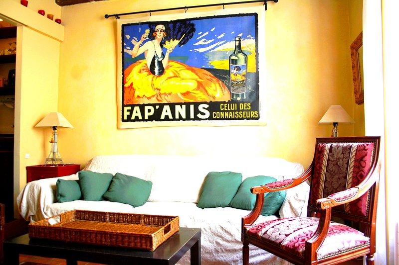 Living room - parisbeapartofit - Marais Rue Pecquay (1379) - 4th Arrondissement Hôtel-de-Ville - rentals