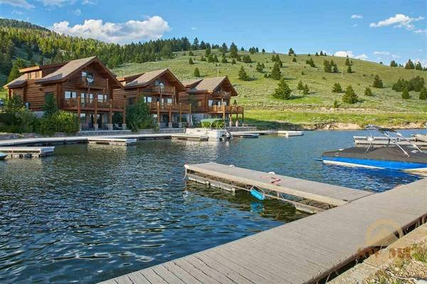 View from private marina and dock - Luxury Yellowstone Lake Cabin - West Yellowstone - rentals