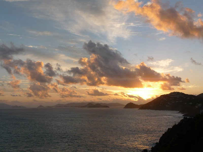 THE MAGNIFICENT SUNRISE VIEW FROM THE CONDO - Spectacular Ocean View Condominium ~ St. Thomas Vi - Charlotte Amalie - rentals