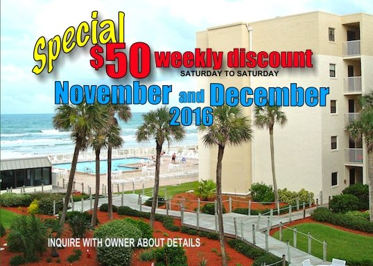 fall special - Oceanview 1 Bedroom-GREAT RATES GREAT REVIEWS - New Smyrna Beach - rentals