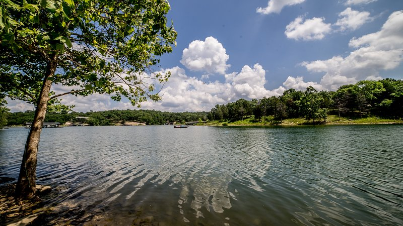 Our Lakefront-boat, swim, paddle board from the private cove. - Lakefront home directly on Table Rock Lake - Kimberling City - rentals
