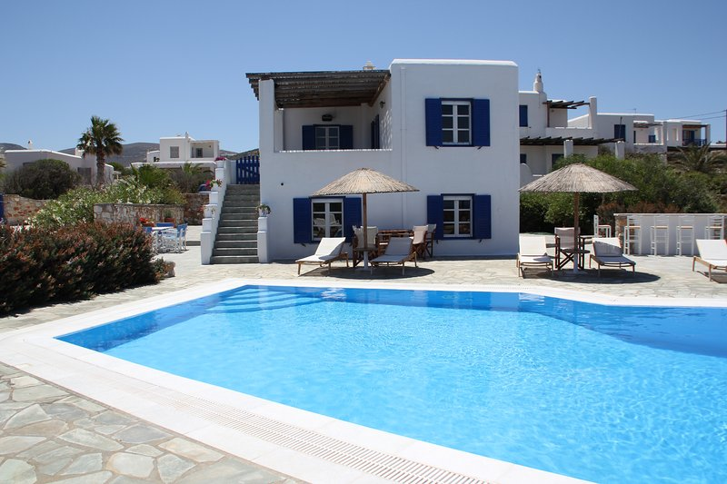 Villa Paros. Apartment is on the lowel level. - Two Bedroom Apartment by the Sea - Paros - rentals