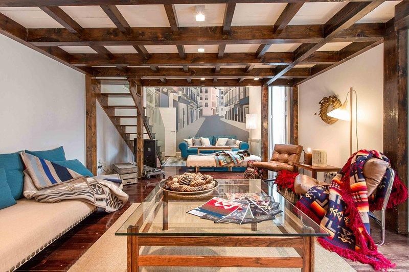 Living Room  - MADRID  LOFT LUXURY - Madrid - rentals