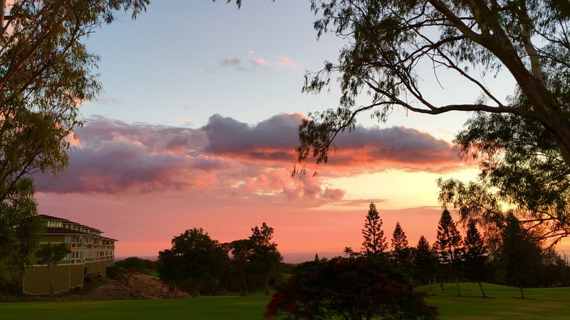 View from our lanai - HAWAII VACATION GOLF, SUNSET & WATER- BIG ISLAND - Waikoloa - rentals