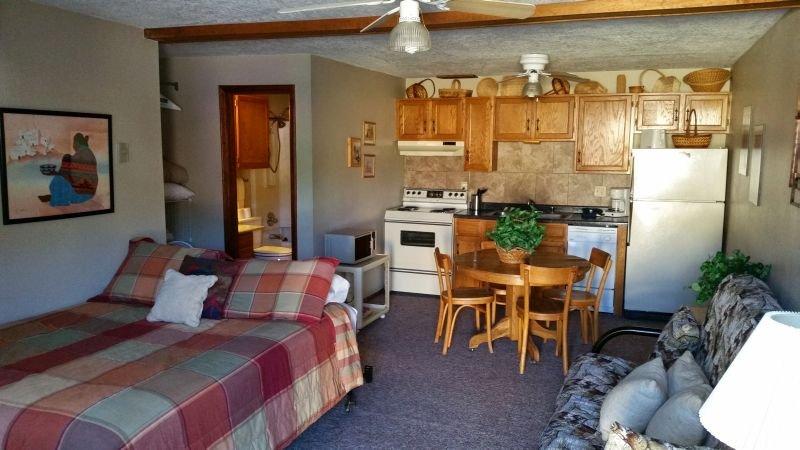 Aspen West #3S - Main Street Studio, Full Kitchen, WiFi, Satellite TV - Image 1 - Red River - rentals