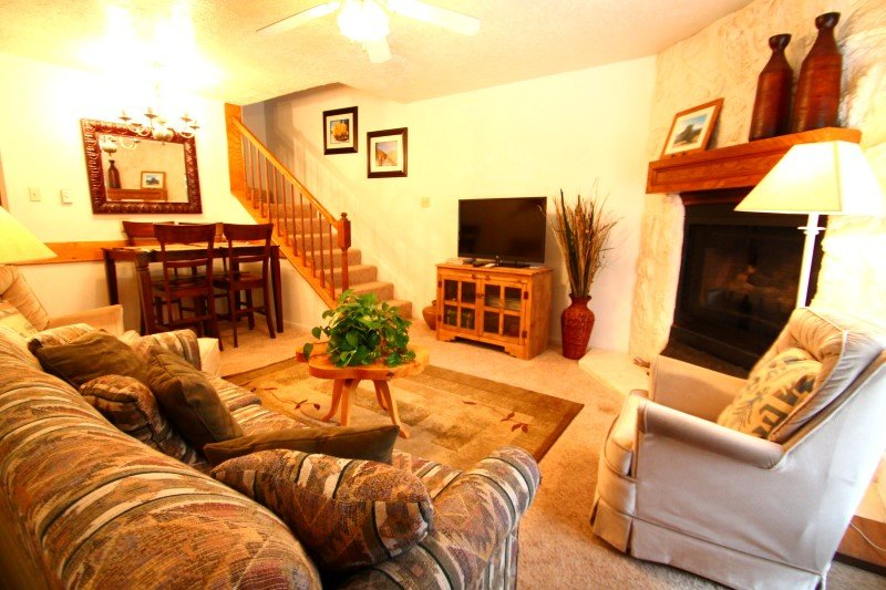 Valley Condos #109 - WiFi, Washer/Dryer, Community Hot Tubs, Playground, Creek - Image 1 - Red River - rentals