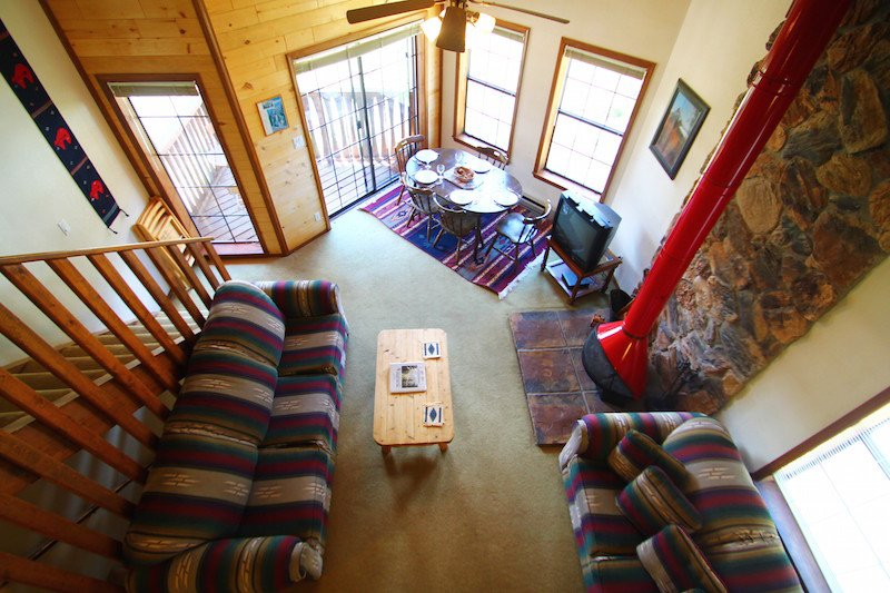 Riverbend Townhouse #8 - On the River, King Bed, Downstairs Studio - Image 1 - Red River - rentals