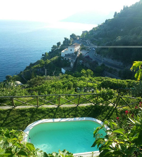 Maiori Casa Amalfi property with pool, Amalfi coast self catered rental,villa with view Amalfi Coast - Image 1 - Maiori - rentals